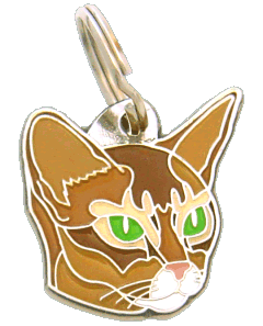 Abyssinian - pet ID tag, dog ID tags, pet tags, personalized pet tags MjavHov - engraved pet tags online